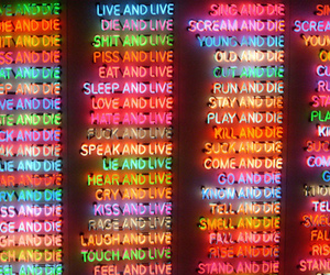 live, die, and light image