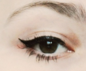 eyes, make up, and perfect image