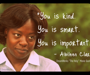 the help, quote, and important image