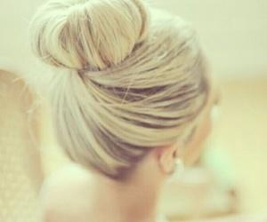 beauty, braid, and bun image