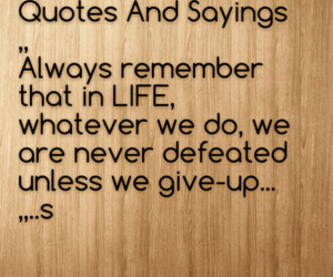 give, sayings, and up image