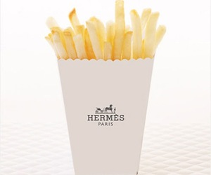 hermes, food, and fries image
