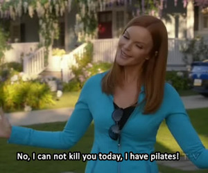 Desperate Housewives, happy, and quote image