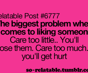 care, problem, and quote image