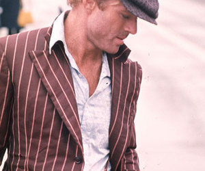 robert redford, fashion, and man image
