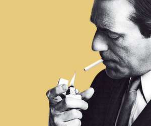 mad men, don draper, and black and white image