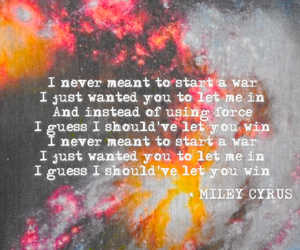miley cyrus, quote, and ball image