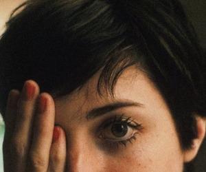 girl, eye, and hair image