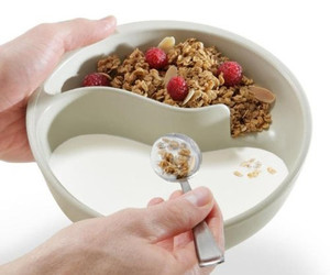cereal, bowl, and breakfast image