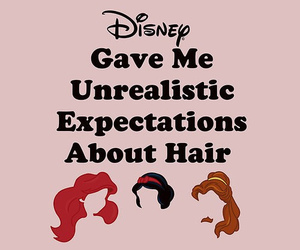 disney, hair, and princess image