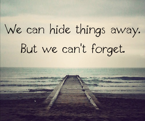 quote, forget, and hide image