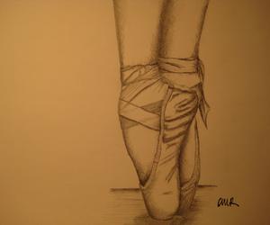 art, drawn, and ballet image
