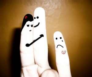 finger, happy, and lol image