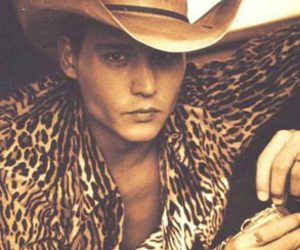 hat, young johnny depp, and johnny depp image