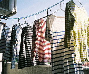 clothes, vintage, and stripes image