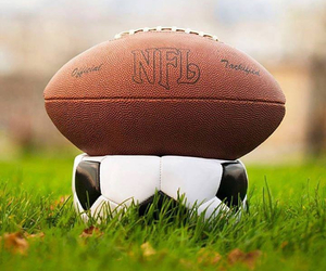 football and NFL image