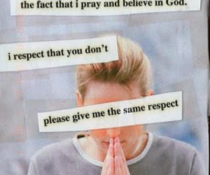 beliefs, respect, and god image