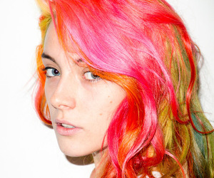 girl, chloe norgaard, and hair image