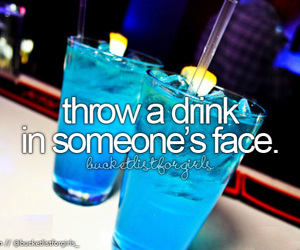 drink, face, and party image