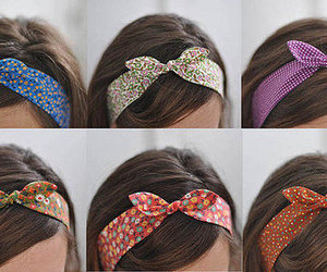 hair, Headbands, and laces image