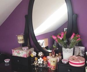 bedroom, home, and makeup image