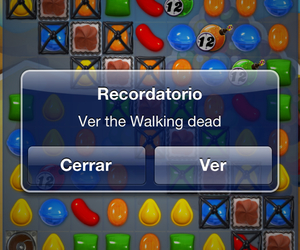 the walking dead, ❤, and candy crush image