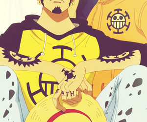 one piece and Law image