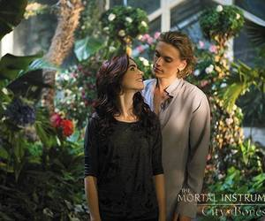 city of bones, jace, and clary fray image