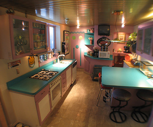 house, cute, and kitchen image