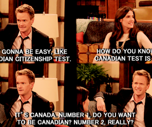 barney, canada, and himym image