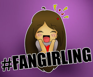 fangirling, cute, and adorable image