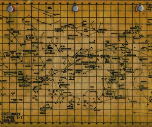 astronomy and star chart image