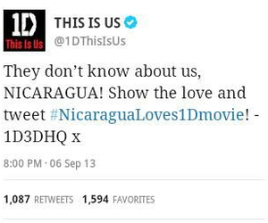 Nicaragua and this is us image