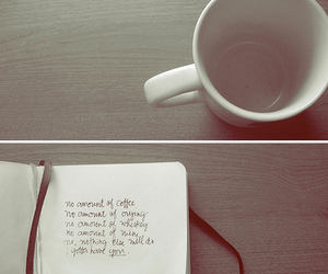 coffee, Lyrics, and love image