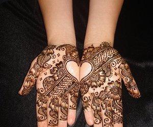 henna, india, and peace image