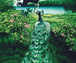amazing, art, and green image