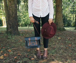 ankle boots, hat, and outfit image