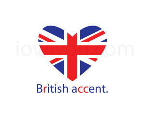 british, accent, and pink image