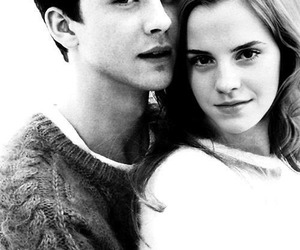 logan lerman, emma watson, and couple image