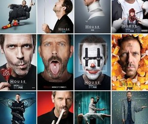 dr house, hugh laurie, and house image