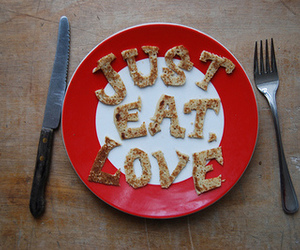eat, food, and love image