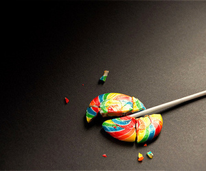 black, candy, and colorful image