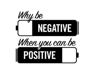 positive, negative, and life image