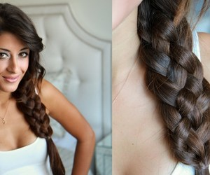 diy, five, and hairstyle image