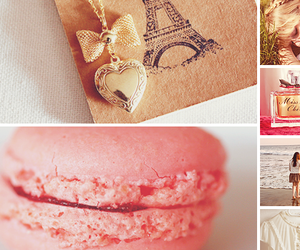 paris, pink, and macaron image