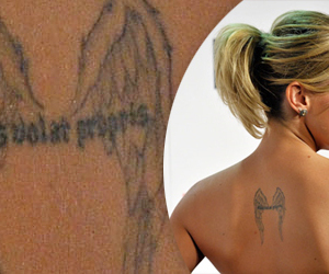tattoo, angel, and katie cassidy image