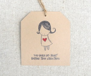 craft, tags, and love image