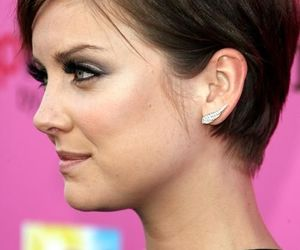 Jessica Stroup, 90210, and silver image