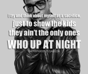 awesome, black, and cudi image