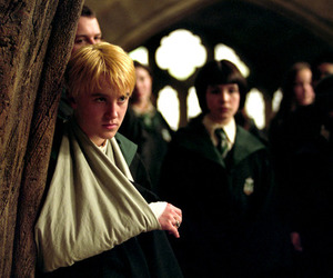 draco malfoy, hogwarts, and prisoner of azkaban image